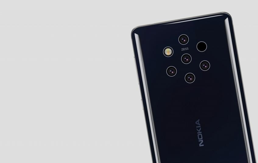 Nokia 9.3 PureView получит подэкранную камеру от Toshiba