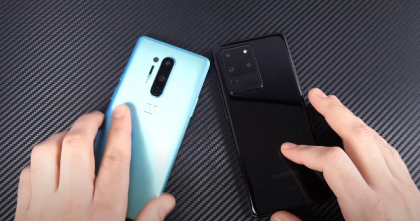 OnePlus 8 Pro против Samsung Galaxy S20 Ultra и iPhone 11 Pro Max. Какой смартфон быстрее?