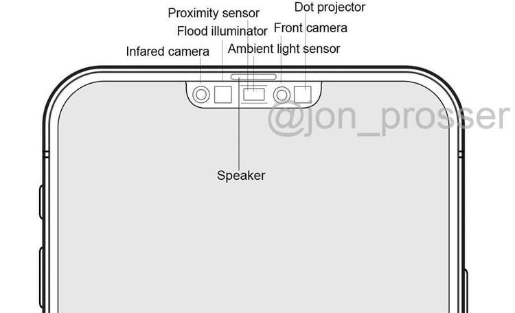 Раскрыта «начинка» экранного выреза Apple iPhone 12 Pro