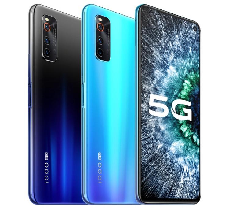 Смартфон iQOO Neo 3 5G оснащён 144-Гц дисплеем Full HD+ с поддержкой HDR10+