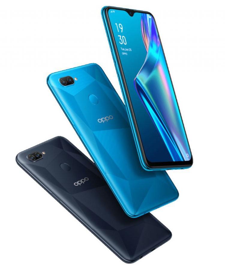 Смартфон OPPO A12 оснащён дисплеем HD+ и процессором Helio P35