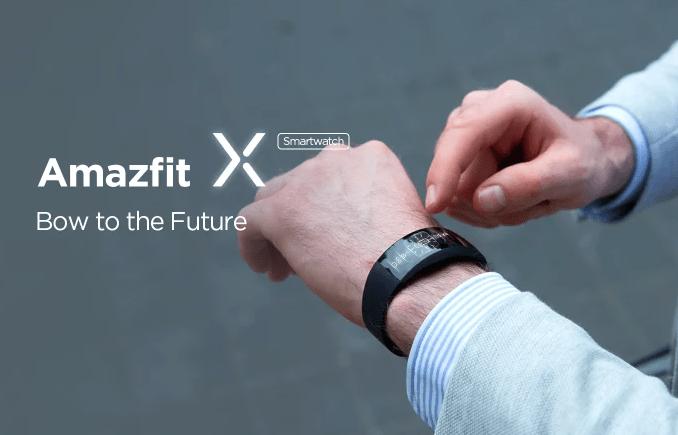 Умные часы Amazfit X с гибким экраном можно заказать – фото 3