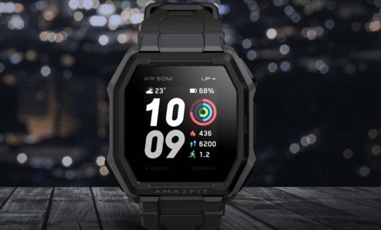 Huami анонсировала защищенные фитнес-часы Amazfit Ares стоимостью