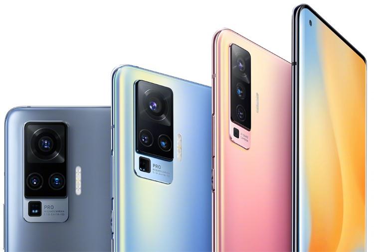 Vivo раскрыла вид телефона X50 Pro с передовой камерой