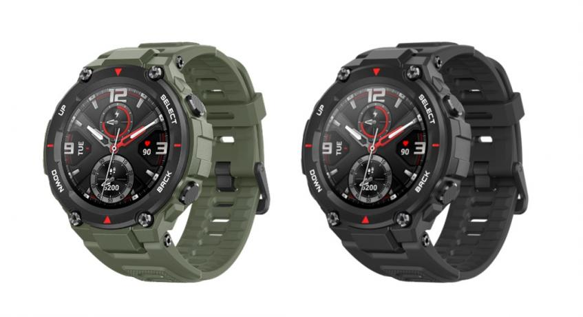 Защищенные умные часы Huami Amazfit T-Rex уже можно купить в России по сниженной цене