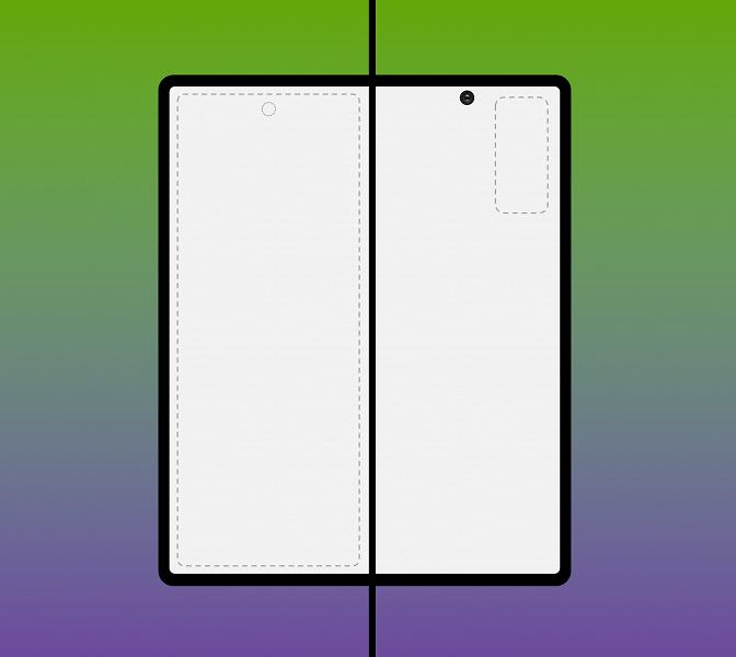 Именно так может выглядеть Samsung Galaxy Fold 2