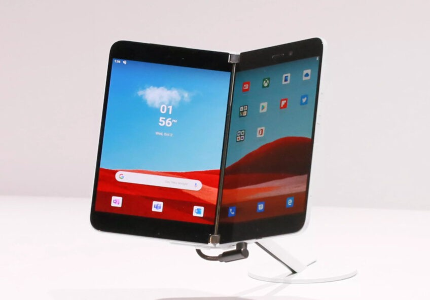 Названа особая функция будущего телефона Microsoft с двумя экранами - 1