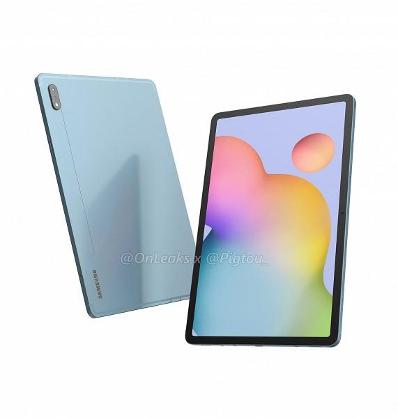 Первые планшеты на Snapdragon 865. Смотрим на рендеры Samsung Galaxy Tab S7 и S7 Plus