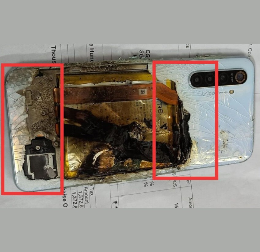 Realme XT взорвался сразу после покупки: компания обвиняет «внешние силы»