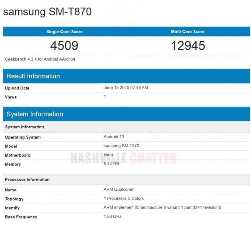 Samsung Galaxy Tab S7 с экраном 120 Гц не уступает Galaxy Tab S7+ в производительности