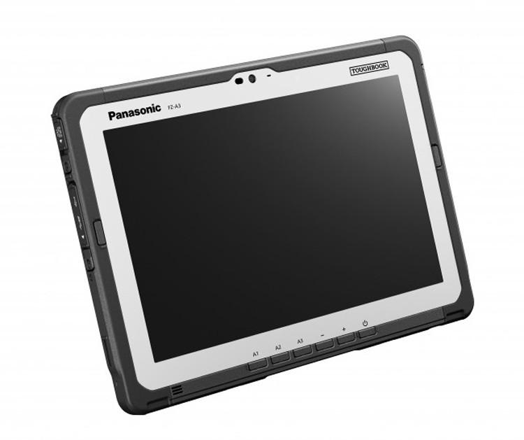 Защищенный планшет Panasonic Toughbook A3 оснащен двумя сменными батареями