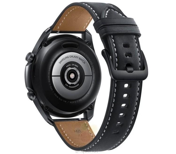 Часы Samsung Galaxy Watch 3 целиком рассекречены: пресс-рендеры и характеристики