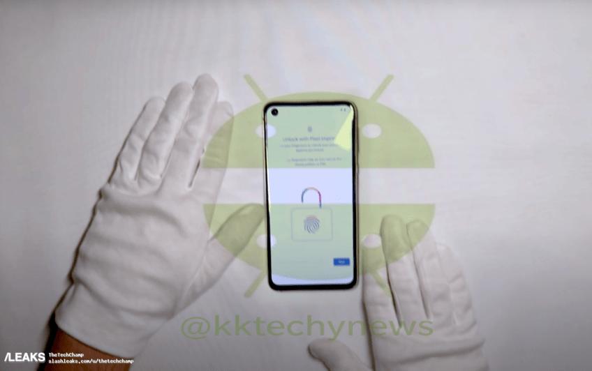 Финальная версия нового Google Pixel получила экран с широкими рамками и большим вырезом