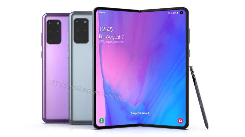 Никакого Samsung Galaxy Fold 2. Смартфон называется иначе