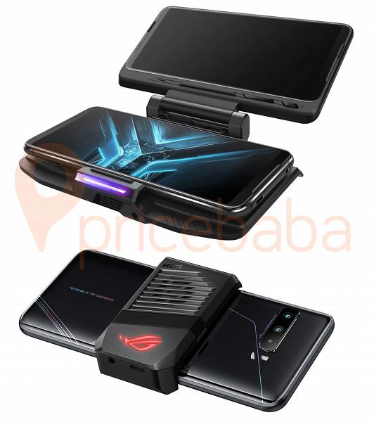 Качественные изображения Asus ROG Phone 3 с аксессуарами