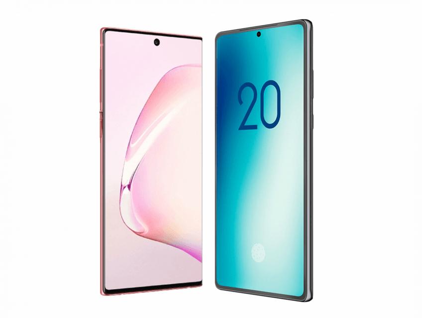 Качественные изображения Samsung Galaxy Note 20 и сравнение с Galaxy Note 10