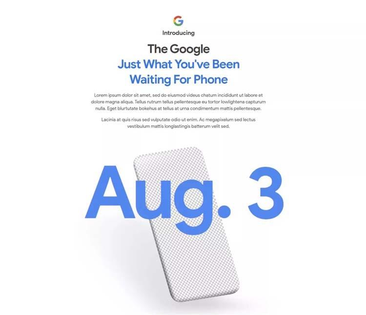 Прогноз блогера совпал с датой объявления Pixel 4a, обозначенной Google в тизере