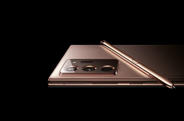 Русский веб-сайт Samsung кратковременно показал изображение Galaxy Note 20 Ultra