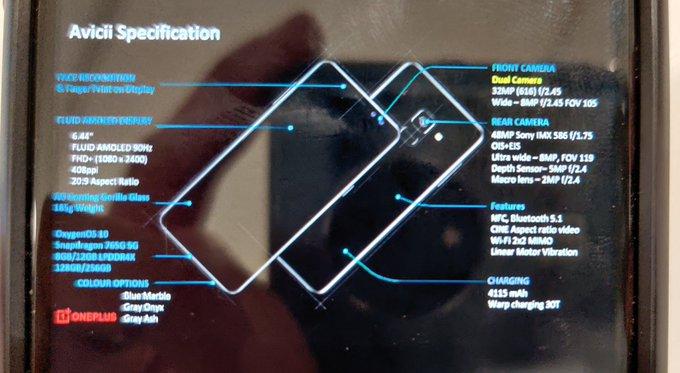 Слили характеристики OnePlus Nord. Источник надежный – фотографии 2