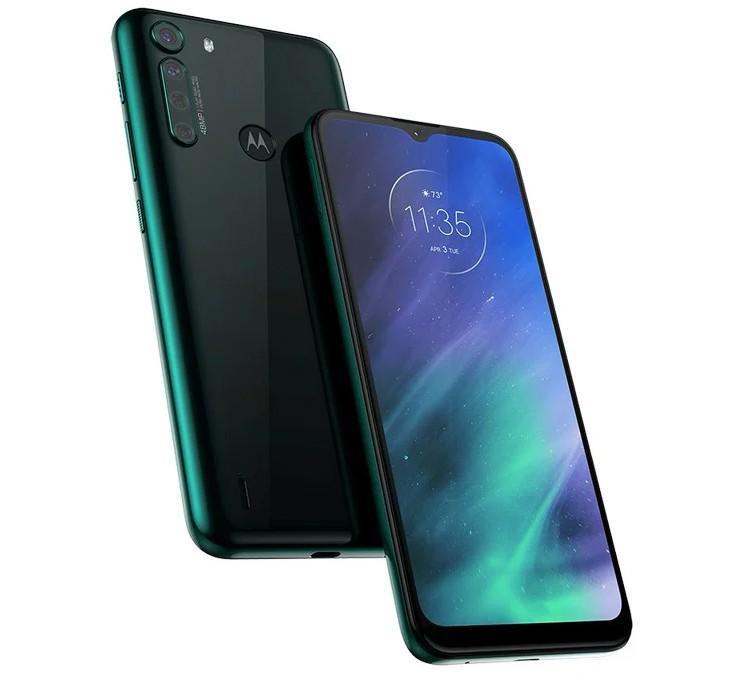 Телефон Motorola One Fusion оснащен экраном HD+ и микропроцессором Snapdragon 710