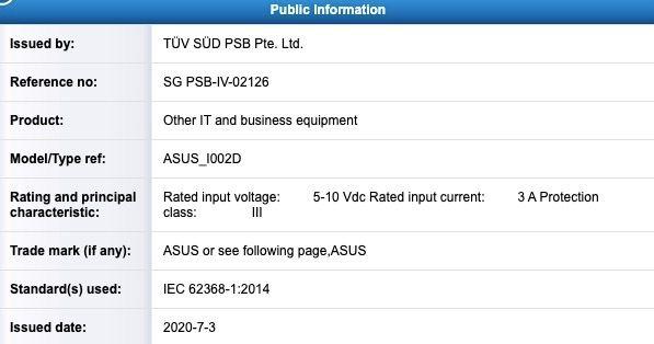 В сети появились характеристики Asus Zenfone 7 – фотографии 2