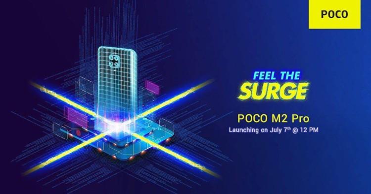 Xiaomi презентует телефон среднего уровня Poco M2 Pro с четверной камерой 7 июля
