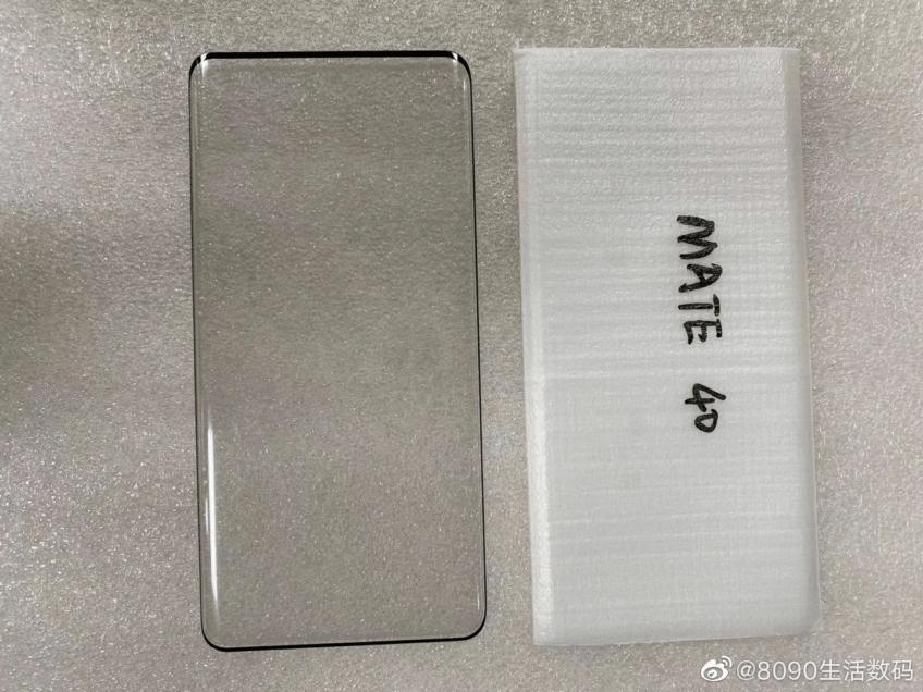 Живое фото подтверждает микроскопические рамки экрана Huawei Mate 40