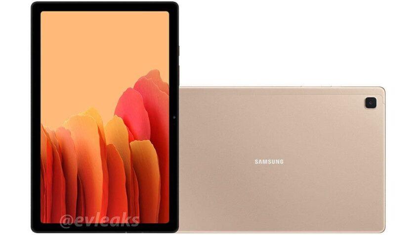 Недорогой планшет Samsung Galaxy Tab A7 10.4 (2020) впервые показали на качественных изображениях