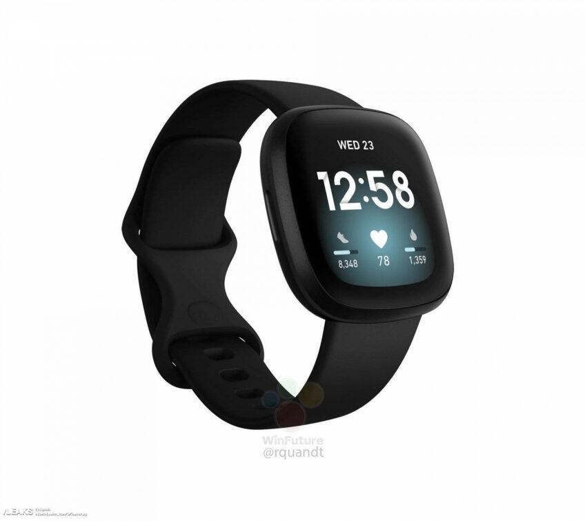Fitbit Sense, Fitbit Inspire 2 и Fitbit Versa 3 на первых качественных изображениях