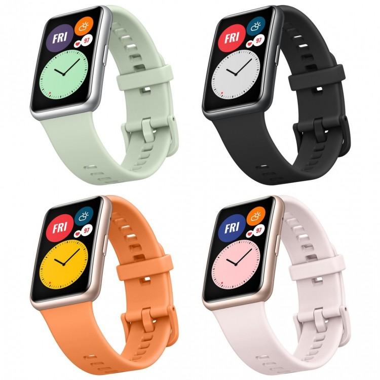 Huawei выпустит смарт-часы Watch Fit с прямоугольным AMOLED-дисплеем и голосовым ассистентом