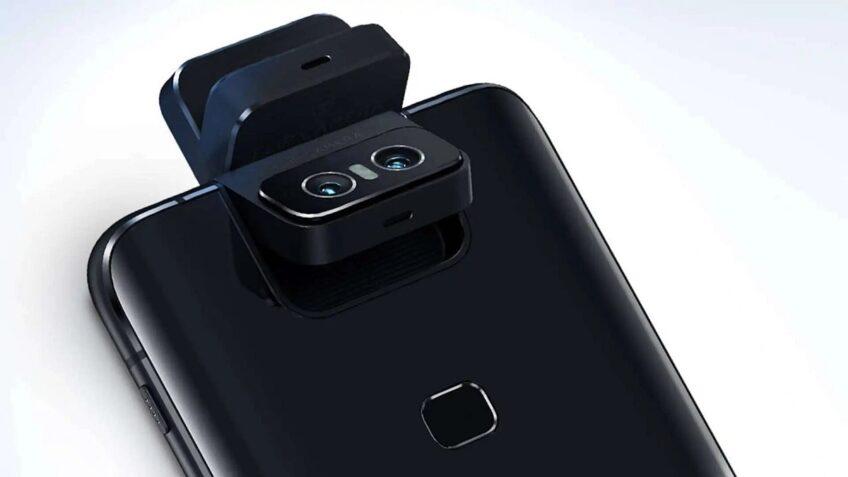 Как работает поворотная камера Asus Zenfone 7. Первое видео