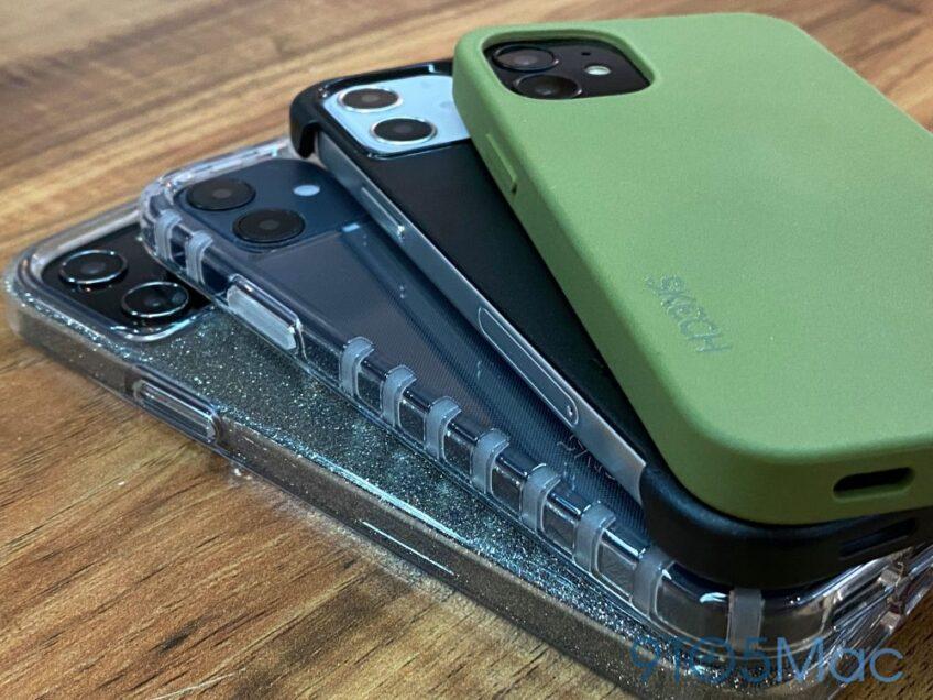 Новые фотографии iPhone 12 в различных чехлах