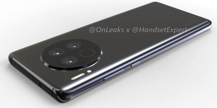 Обнародованы первые изображения Huawei Mate 40: серьезных изменений в дизайне нет
