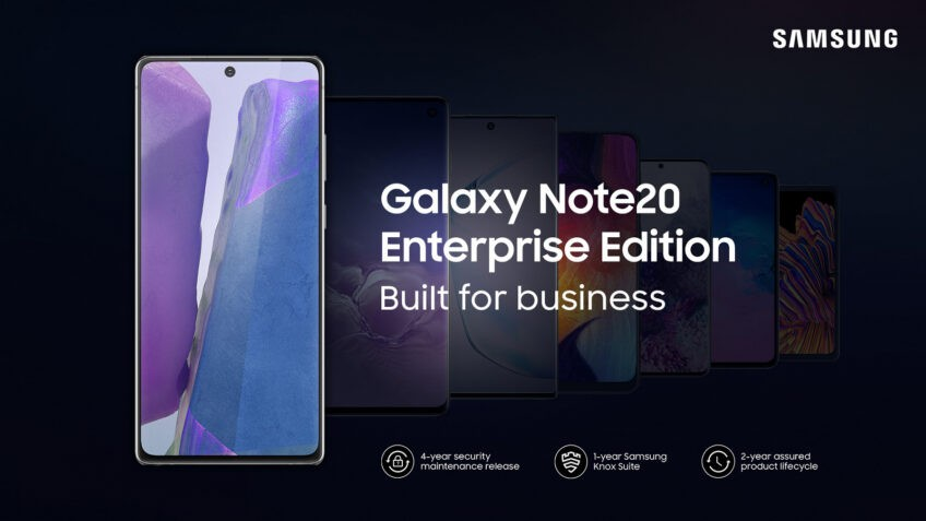 Представлены Samsung Galaxy Note 20 и Galaxy Tab S7 Enterprise Edition