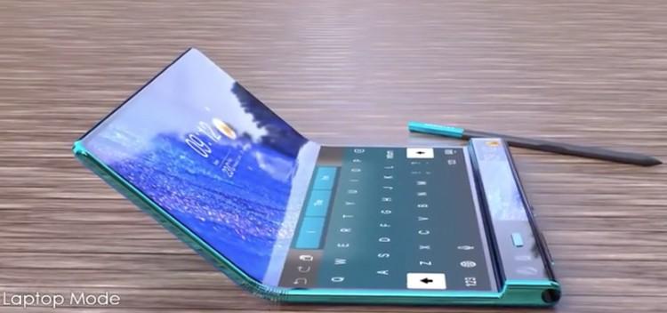 Смартфон-книжка Huawei Mate X2 с гибким экраном позирует на концепт-рендерах