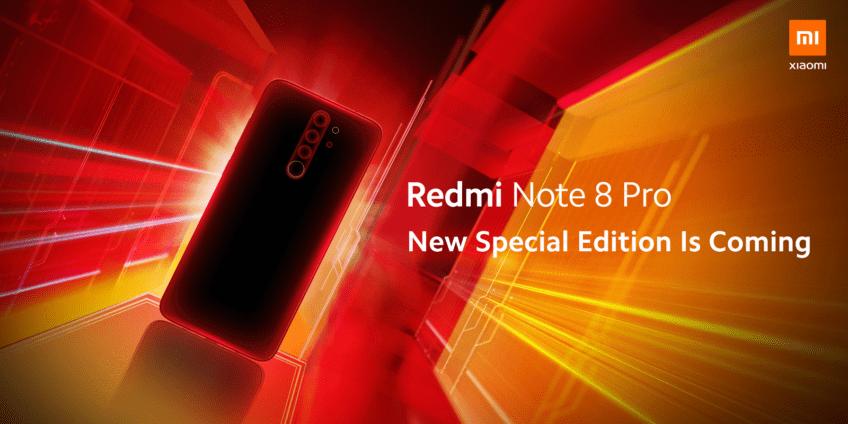 Xiaomi отметит 10-летие выпуском Redmi Note 8 Pro Special Edition