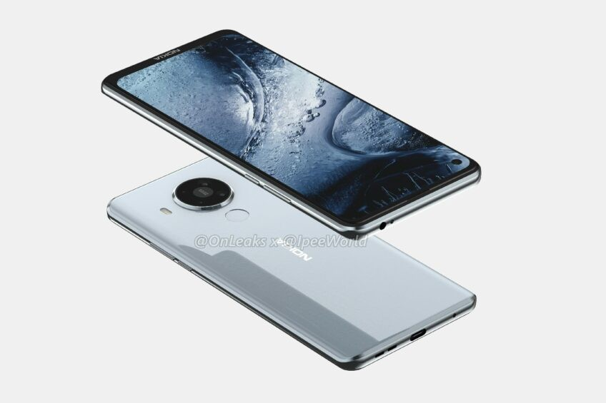 Nokia 7.3 стал на высококачественных рендерах – фотография 2