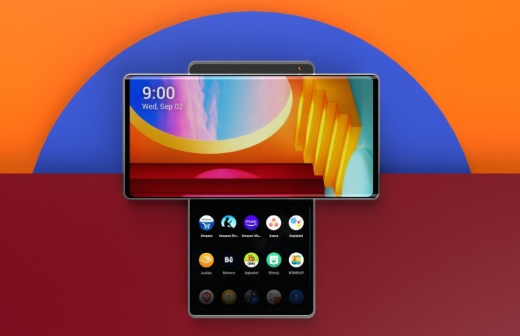 LG подтвердила, что Wing — это имя нового телефона компании