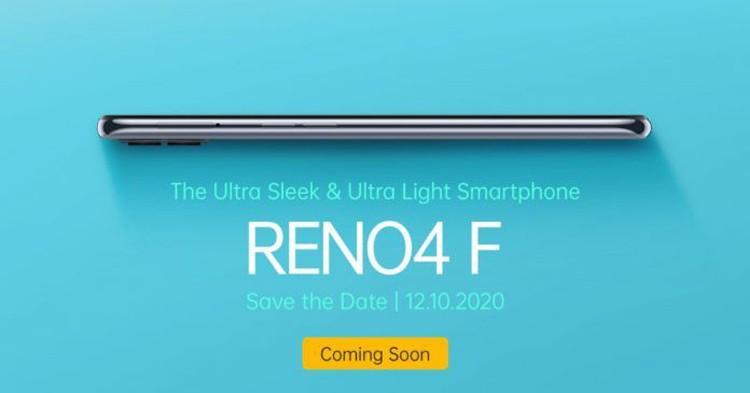 OPPO презентует телефон Reno4 F с шестью камерами12 октября