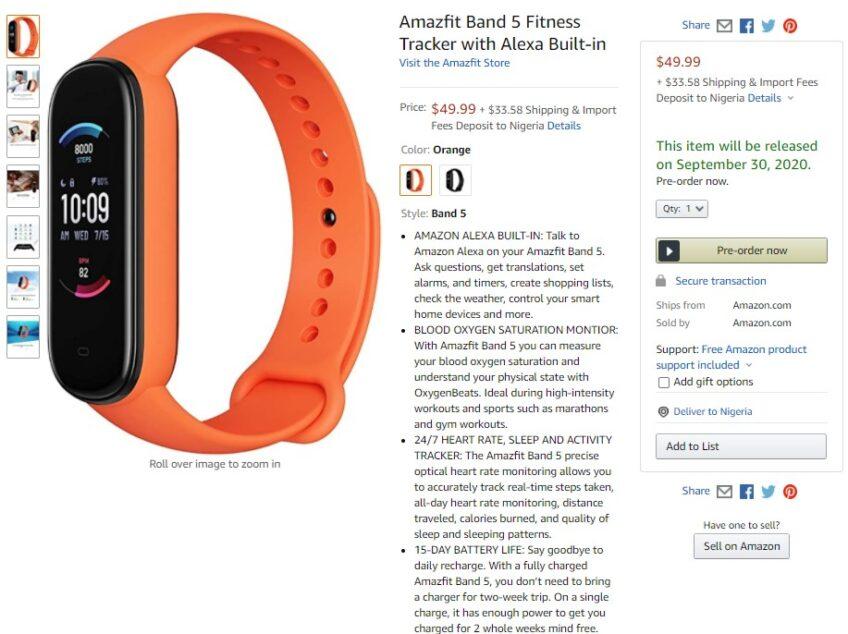 Представлен сильный конкурент Xiaomi Mi Band 5 в лице Amazfit Band 5