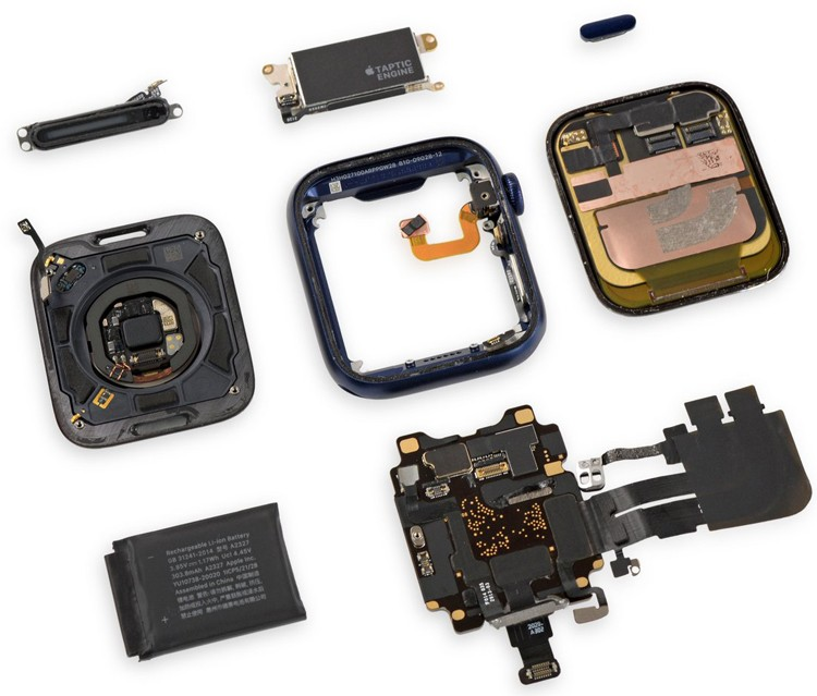 Смарт-часы Apple Watch Series 6 показали приемлемую ремонтопригодность