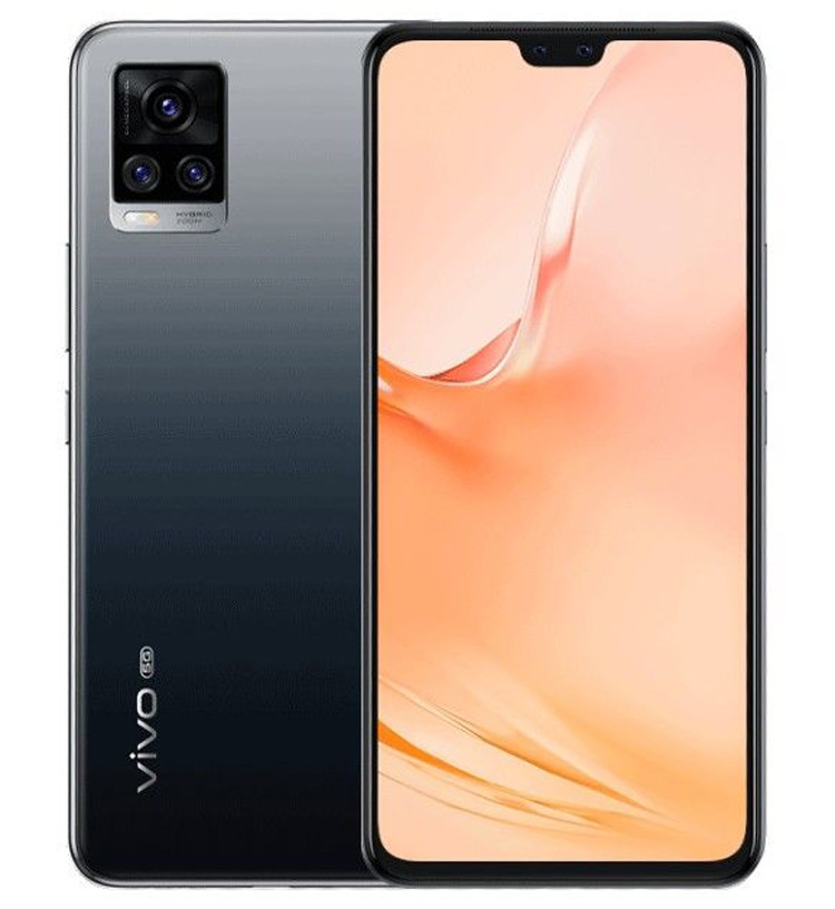 Телефон Vivo V20 Pro 5G предложит двойную 44-Мп селфи-камеру и 33-Вт зарядку за 0