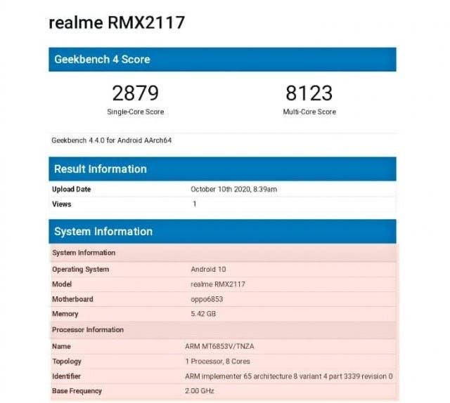 Не конкурент iPhone 12. Realme Q2 протестировали перед завтрашним анонсом