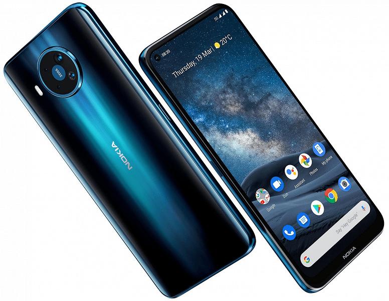 Nokia 8.3 5G получит поддержку 5G для двух SIM-карт