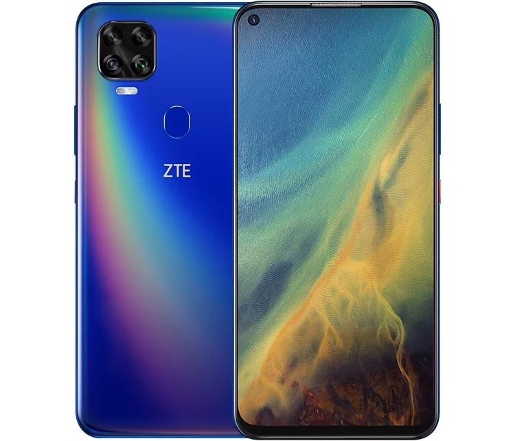 Представлен телефон ZTE V2020 5G с микропроцессором Dimensity 800 и огромным экраном Full HD+ стоимостью 0