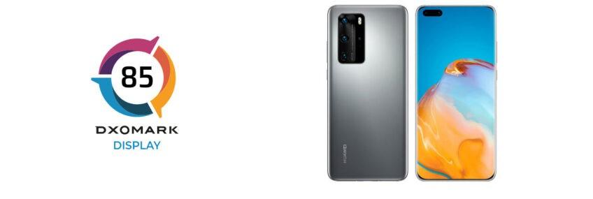 Huawei P40 Pro совсем немного уступил iPhone 12 Pro, но его экран оказался в чём-то даже лучше