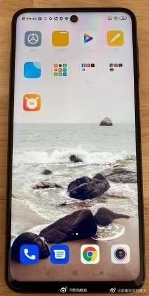 Первое живое фото Redmi Note 9 Pro во включённом состоянии