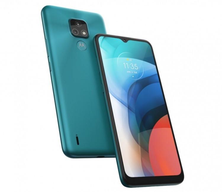 Представлен недорогой телефон Motorola Moto E7 - 2