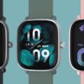 Производитель Xiaomi Mi Band показал мини-версию умных часов Amazfit