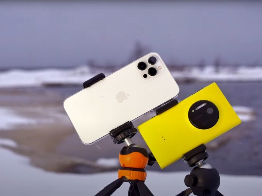 Флагман 2013 года против флагмана 2020 года - чья камера лучше? Сравнили Nokia Lumia 1020 и iPhone 12 Pro Max